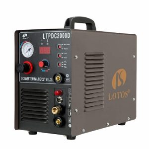 Lotos LTPDC2000D Non-Touch Pilot Arc Plasma Cutter Tig Welder and Stick Welder