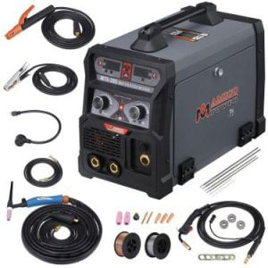 MTS-205 205 Amp MIG-TIG-Torch-Stick Arc Combo Welder