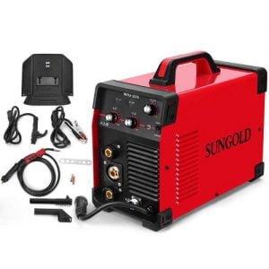 SUNGOLDPOWER 200Amp MIG MAG ARC MMA Stick DC Welder 110 220V Dual Voltage