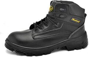SAFETOE Mens Safety Boots M8356B Black - Best Waterproof Working Boots