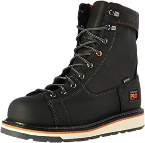 """Timberland PRO Men's Gridworks 8"""" - Best Work Boots For Industrial And Construction"""