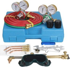 Zen Style Oxygen and Acetylene Gas Regulators & Welder Tool Kit