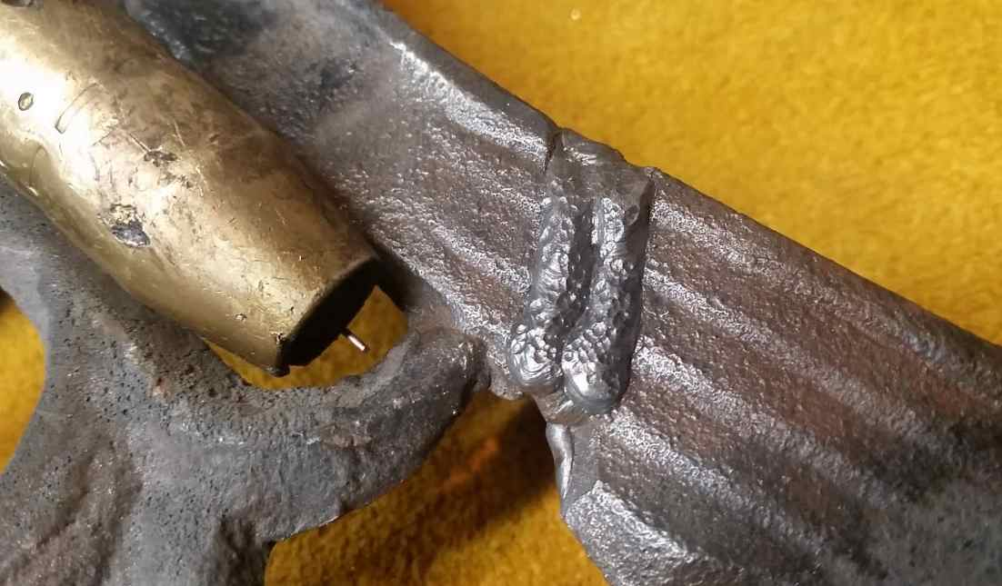 How To Weld Cast Iron With Stick Welder