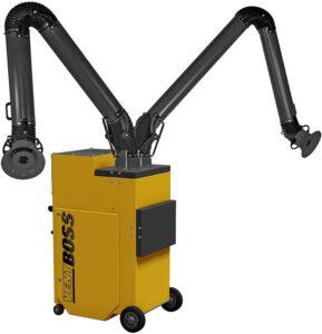 VentBoss S124-G124 Fume Extractor – Best For Medium Welding