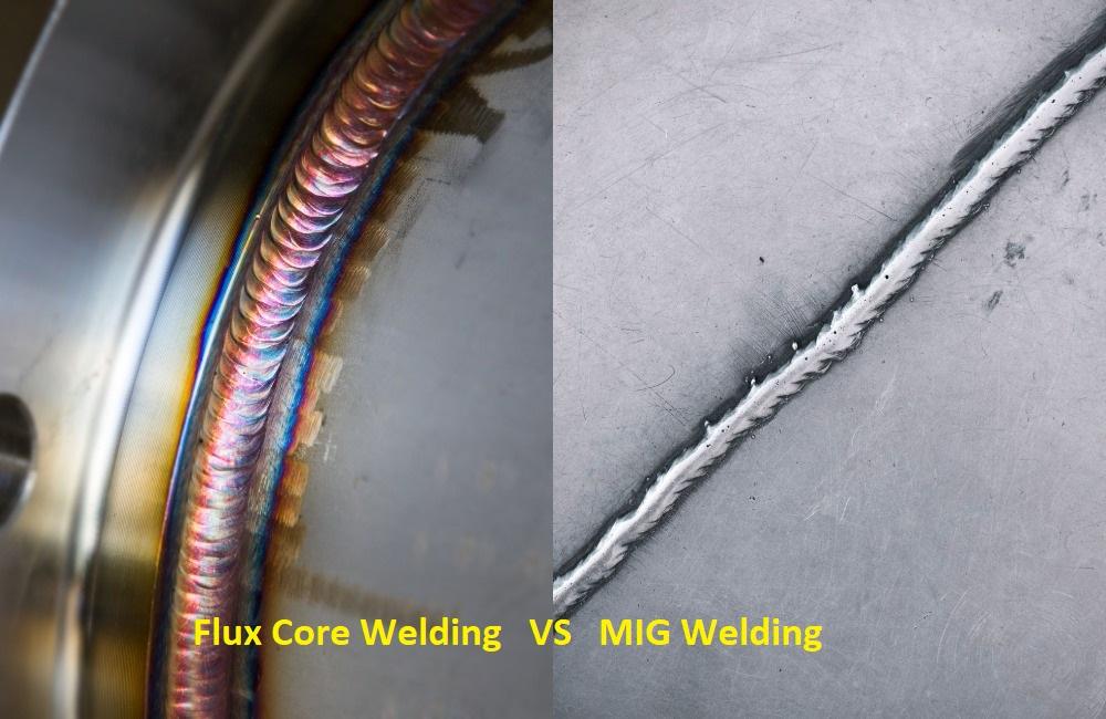 flux core welding vs mig